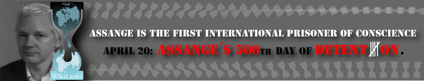 Assange first international prisoner of conscience