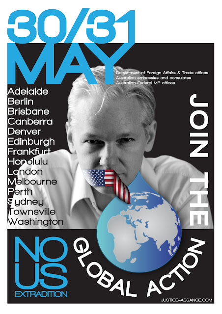 Global Action against Assange extradition